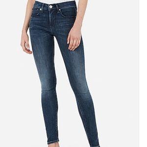 Express mid rise legging jean 10R